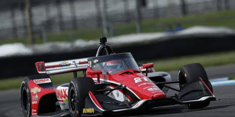 参戦2年目のヴィーケイがグロージャンを交わし初優勝【順位結果】インディカー第5戦GMRグランプリ決勝レース