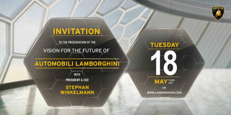 ランボルギーニ、将来のビジョンを発表…V12ガソリンエンジン? 5月18日