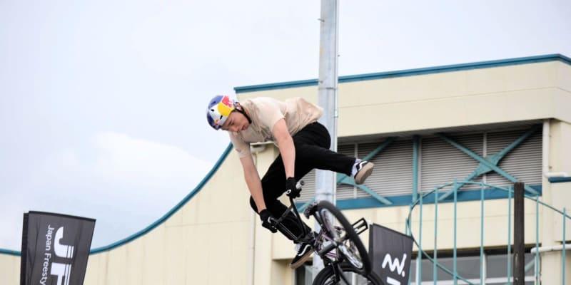 BMX・中村輪夢が新技披露で圧巻V 大けがからの復帰戦「やっと戻ってこられた」