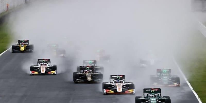 アレジが参戦2戦目で初優勝。SCに赤旗、サバイバルのレースは悪天候により12周で終了【第3戦オートポリス決勝】