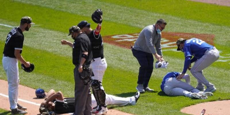 """【MLB】指揮官も心配「恐ろしかった」 走者と野手の""""正面衝突""""が「めちゃくちゃ怖い」"""