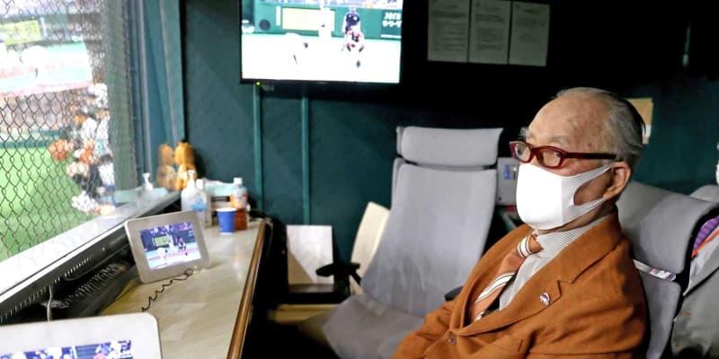 巨人・長嶋茂雄終身名誉監督 今年の阪神は「手ごわい相手」 伝統の一戦を生観戦