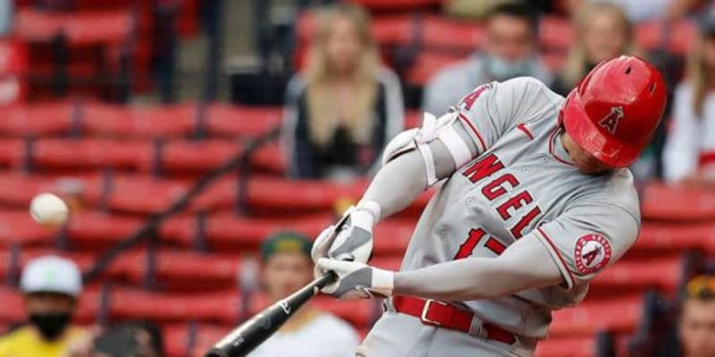 【MLB】大谷翔平、決勝のメジャートップタイ12号2ラン 9回2死から逆転弾で4連敗ストップ