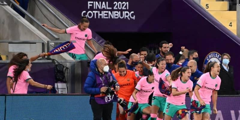 バルセロナ、女子CL初優勝!「総得点128ゴール」の超破壊力でチェルシーを粉砕