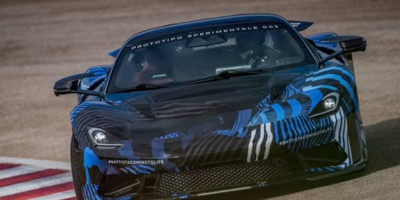 ピニンファリーナの1900馬力EVハイパーカー、『バッティスタ』…「エレクトリックドリームカー賞」を受賞