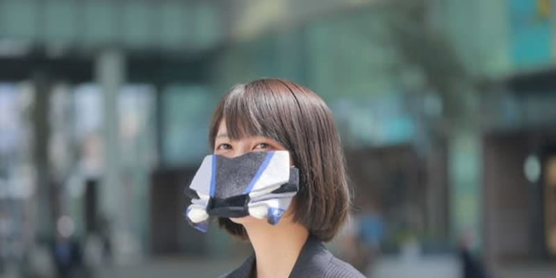 YZF-R1Mのフロントマスクを「マスク」にしてみた---ヤマハ発動機