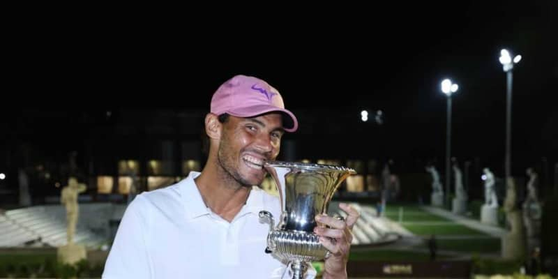 ナダル10度目のローマ優勝、ビッグタイトル数やジョコビッチとの対戦成績も僅差に
