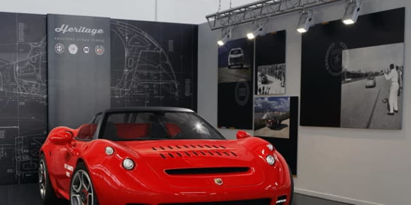 アバルト『1000SP』発表…伝説のスポーツカーの55周年を祝うワンオフ