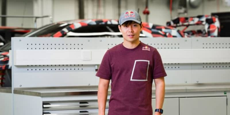 WRC参戦中の勝田貴元がレッドブル・アスリートに「さずかった翼で飛躍できるよう攻めていく」