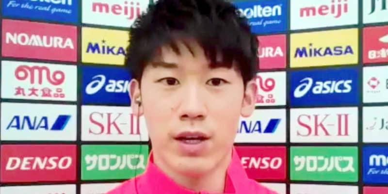 バレー男子主将・石川祐希 五輪へ「覚悟を持って取り組みたい」