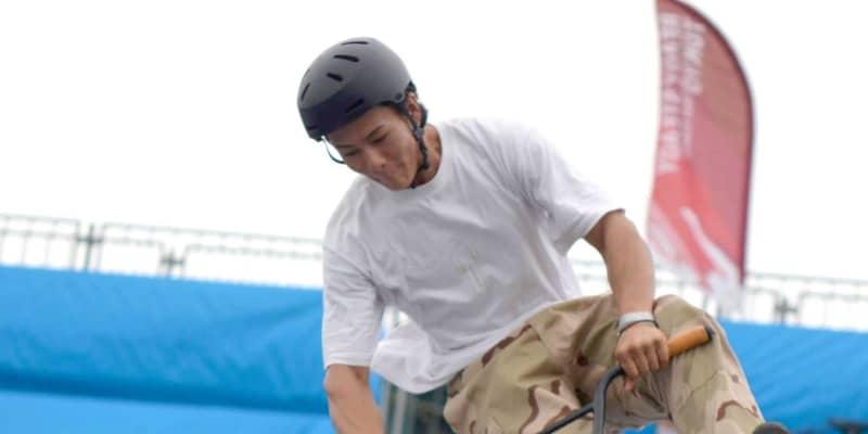 BMX五輪テスト大会 会場に好感触も…懸念は風 鉄骨部分を幕で覆うなど対策検討