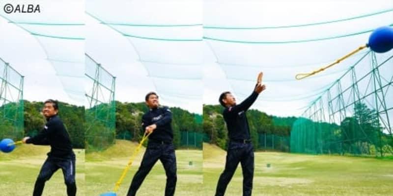 """51歳、身長168cmの藤田寛之が280ヤード飛ばせる理由は、""""ハンマー投げ""""練習にあり"""