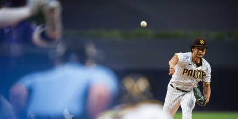 【MLB】ダルビッシュ、7回10K無失点で4勝目 今季初無四球で自身3連勝、バットでも二塁打