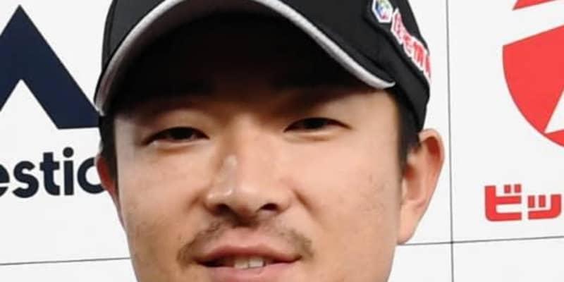 ロッテ・田中靖洋、復帰まで6~8週間 左内腹斜筋損傷