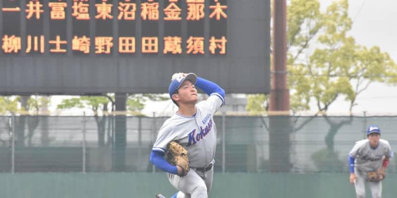 関西国際大・不後が3勝目 甲子園4強左腕に監督「ハートが強い」