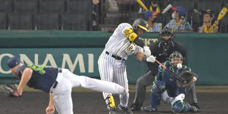 やっと出た!阪神・ロハス 来日初安打は豪快本塁打「嬉しいね」22打席目でついに