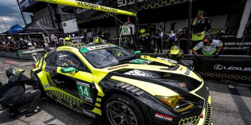 トップ快走のレクサスRC F GT3にまさかのトラブル「ひどく落ち込んでいる」/IMSA第3戦