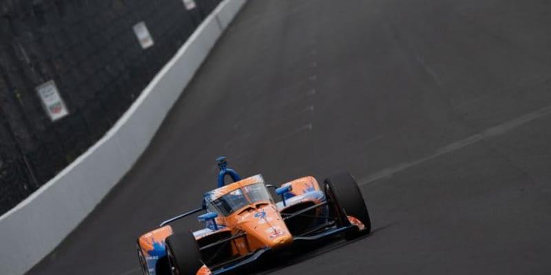 インディ500ファストフライデイはディクソンがトップ。琢磨は8番手と予選TOP9入りに照準