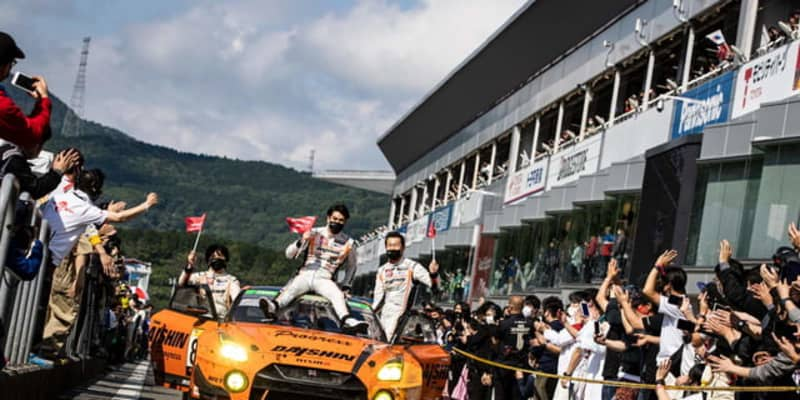 【スーパー耐久 第3戦】DAISHIN GT3 GT-Rが逆転で総合優勝