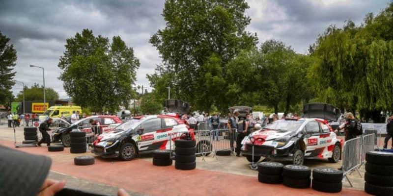 【順位結果】2021年WRC第4戦ポルトガル SS20後