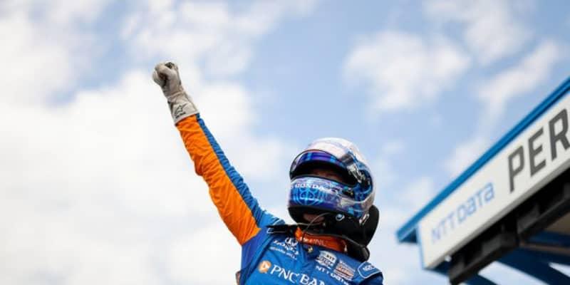 ディクソンが4度目のインディ500ポールポジション獲得。最年少優勝を狙うふたりがフロントロウに