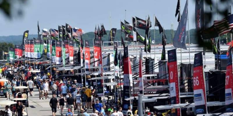 """1年半ぶりに""""アメリカンレースの雰囲気""""戻る。IMSAデトロイト戦ですべての観客のパドック入場を許可"""