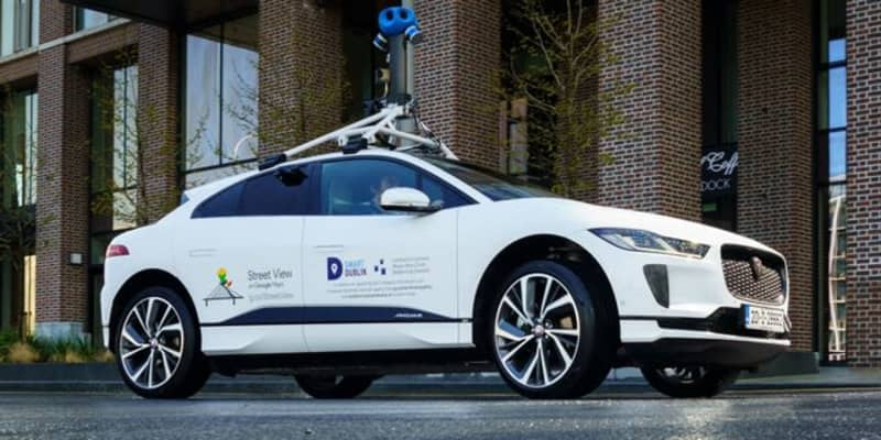 ジャガー I-PACE、「Google ストリートビュー」撮影車両初のEVに…大気質も測定