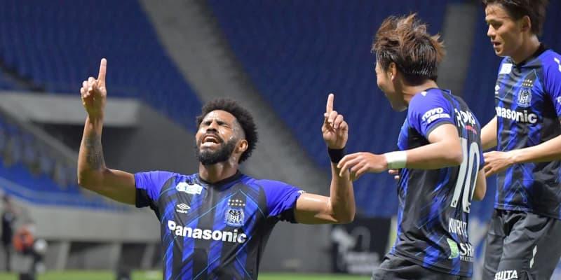 G大阪 松波監督就任後初ゴール 今季チーム4点目 前半1-0とリード