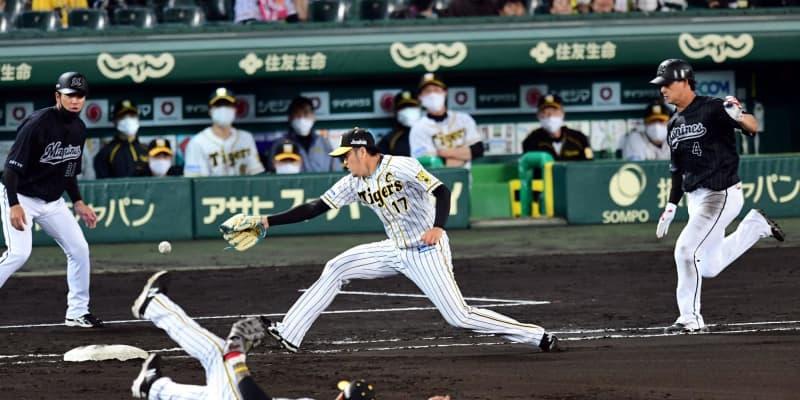 阪神・マルテ、痛恨タイムリーエラー 横っ飛び好捕も悪送球 勝ち越し許す