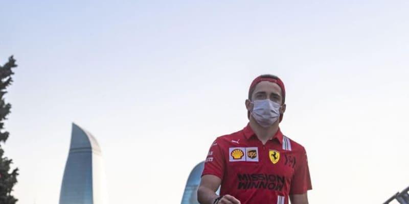 ルクレール、クラッシュも4番手「あまりに快適でプッシュしすぎた」フェラーリ/F1第6戦金曜