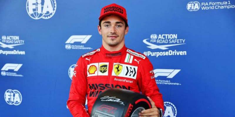 フェラーリのルクレールが2戦連続のポール獲得。角田裕毅はQ3進出も終盤にクラッシュ【予選レポート/F1第6戦】