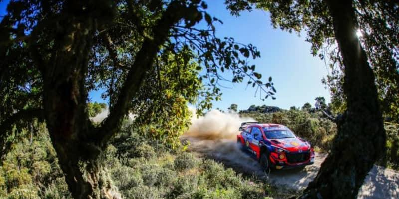 リタイアのソルド「レッキで見つけられなかった」石にヒット/WRC第5戦イタリア デイ2後コメント