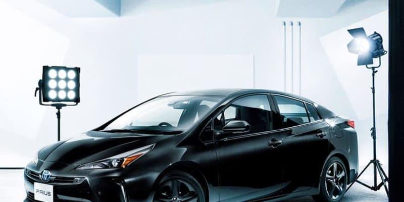 """黒過ぎるプリウス! """"ブラックエディション""""のトヨタ 新型プリウスが全身黒ずくめの渋いスタイルで誕生"""