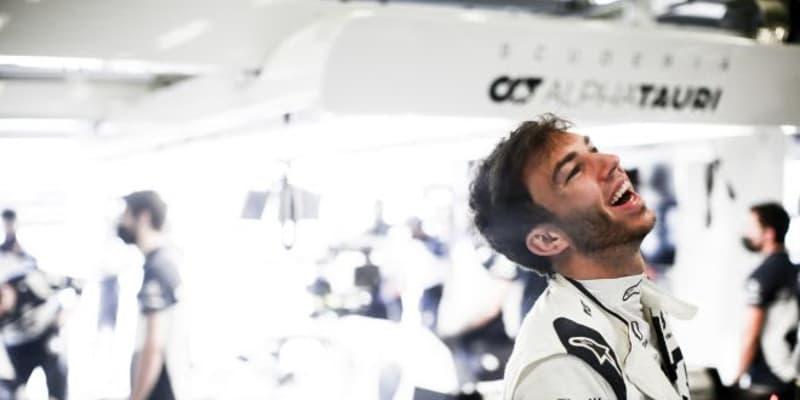 ガスリー予選4番手「ビッグチームとポール争いできたなんて信じられない」アルファタウリ・ホンダ/F1第6戦