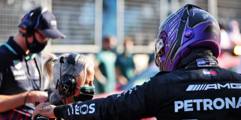 苦戦し続けたハミルトンが予選2番手「FP3の最後にようやく解決の糸口を見つけ出した」メルセデス/F1第6戦