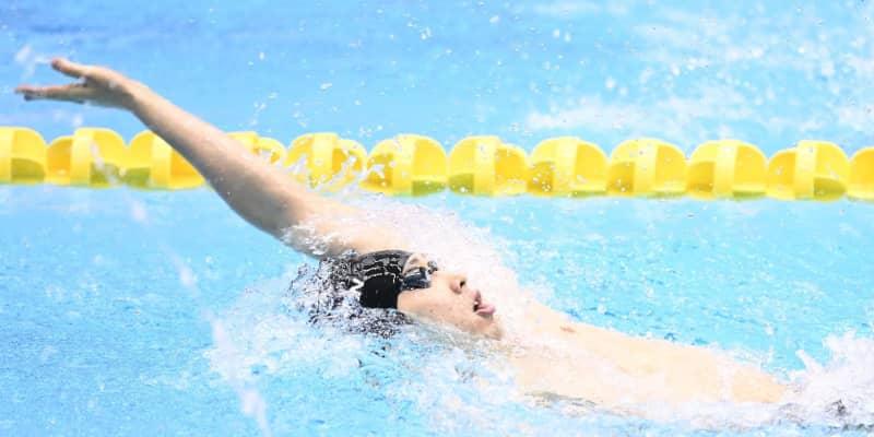 萩野公介 200M背泳ぎは2位「3日間で一番良かった」