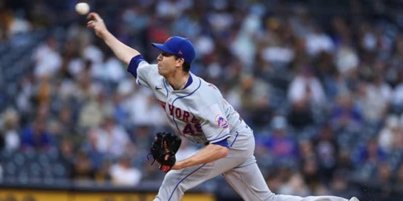【MLB】「こんなの見たらもう引退」ど真ん中に打者のけぞる…防御率0.62デグロムは「別次元」