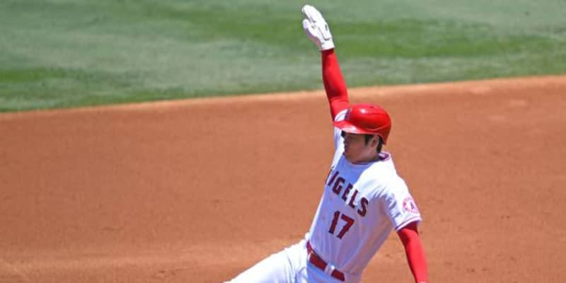 【MLB】大谷翔平、昨季超えシーズン8盗塁 複数シーズンの8登板&8盗塁以上は120年ぶり快挙