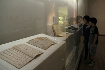 潜伏キリシタンの歴史を伝える特集展=長崎市、長崎歴史文化博物館