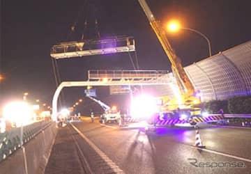 高速道路の点検(参考画像)