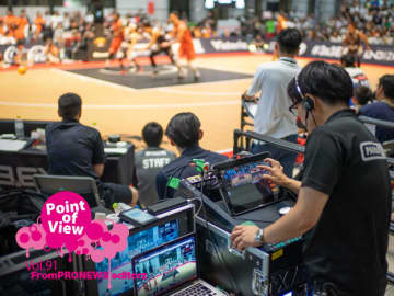 [Point of View]Vol.91 3人制バスケのプロリーグ「3×3.EXE PREMIER」のライブ配信に採用されたStreamstarの魅力に迫る
