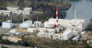 日本原子力研究開発機構の高速実験炉「常陽」=大洗町