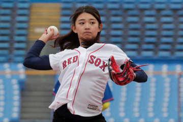【MLBドリームカップ】美しき「野球女子」坪井ミサト、岩村氏打ち取り「もの凄く嬉しいです」