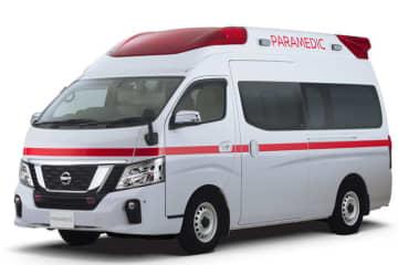 日産自動車、高規格準拠救急車「パラメディック」をフルモデルチェンジ