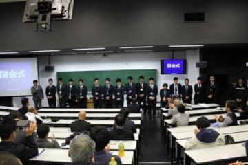 筑波大学で行われた日本野球科学研究会第6回大会【写真:広尾晃】