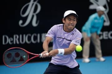 「ATP250 シドニー」での西岡