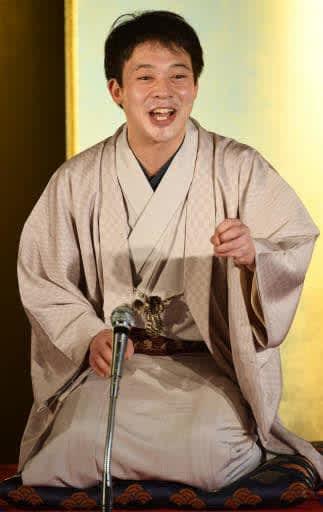 「新しい落語ファンを増やしたい」と語る柳亭市弥さん