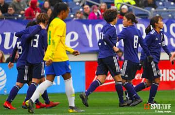 強豪ブラジルに競り勝ったなでしこジャパン