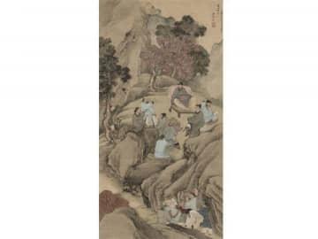 初公開される与謝蕪村の晩年の優品「龍山落帽之図」