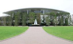 JR尼崎脱線事故の犠牲者の追悼施設「祈りの杜」=尼崎市久々知3